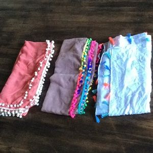 Other - Beach cover ups size L $15 each NWOT